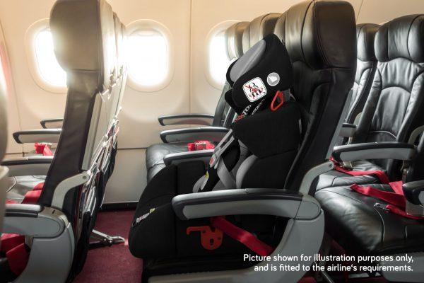 Carrot 3000 Car Seat On Plane