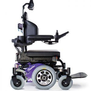 Centre wheel drive