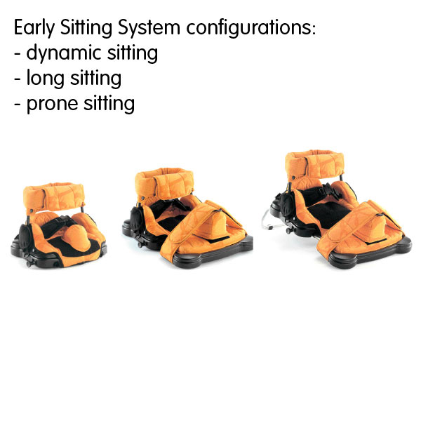 Leckey Early Sitting System configurations