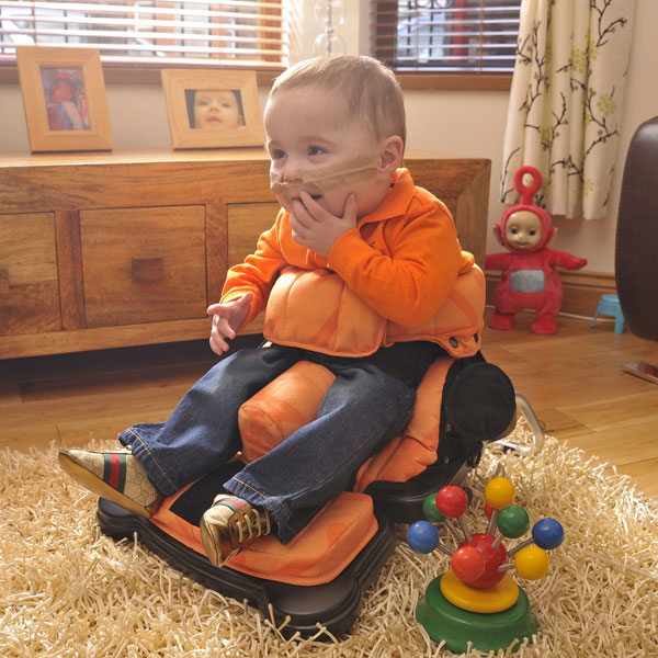 Leckey Early Sitting System in use