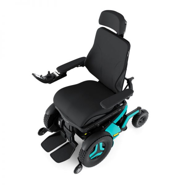 Permobil F5 - top view