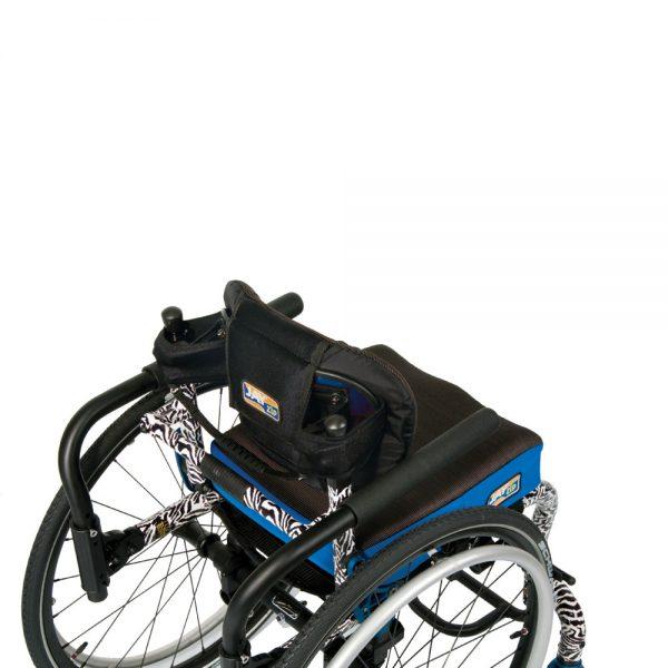 Jay Zip Paediatric backrest on wheelchair