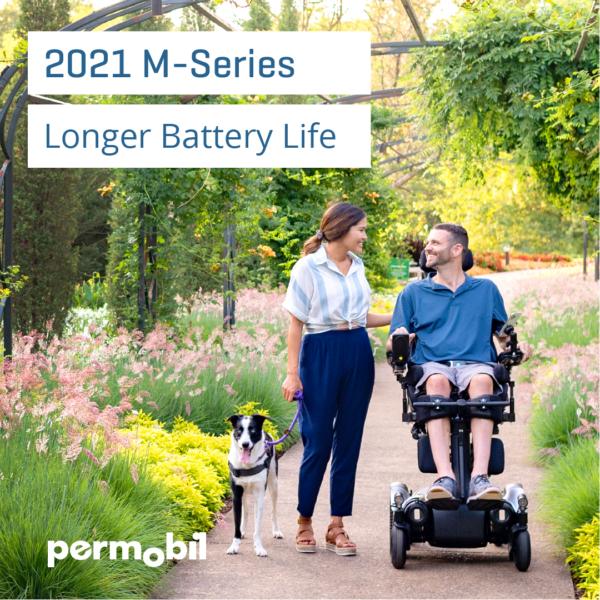 Permobil M5 - Battery life