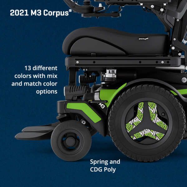 Permobil M3 - mix and match colours