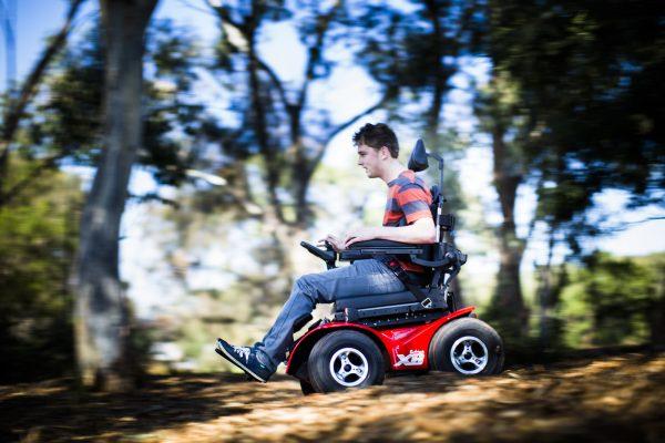 Magic Mobility X8 in bush