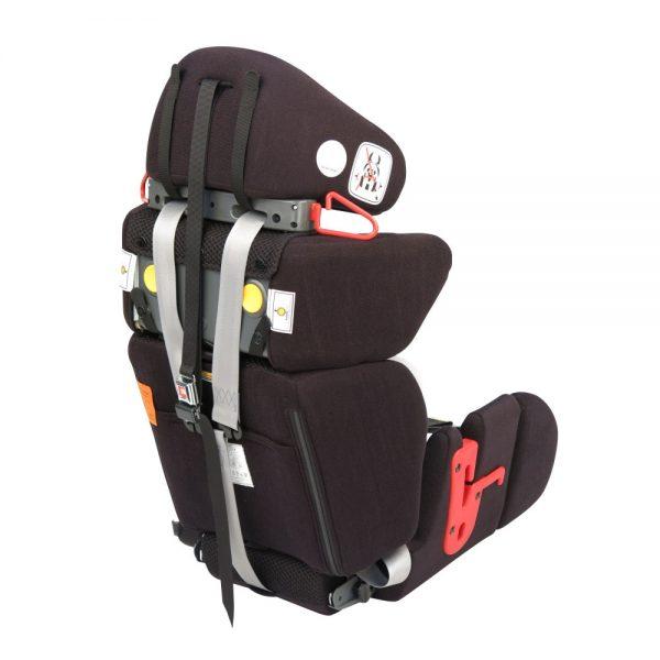 Medifab Carrot Car Seat - rear view