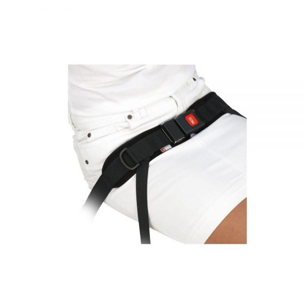 Medifab Spex four point belt - push button buckle