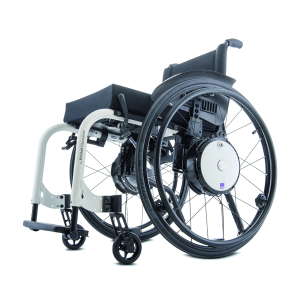 Alber Twion wheels on wheelchair