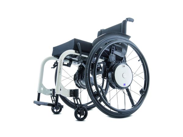 Alber Twion wheels on wheelchair