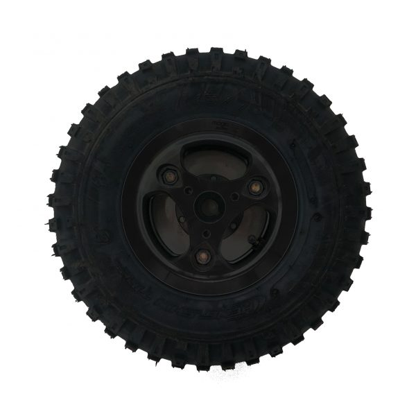 Complete All Terrain Wheel for Magic Mobility - black hub