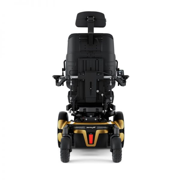 Permobil F5 VS power wheelchair - rear view