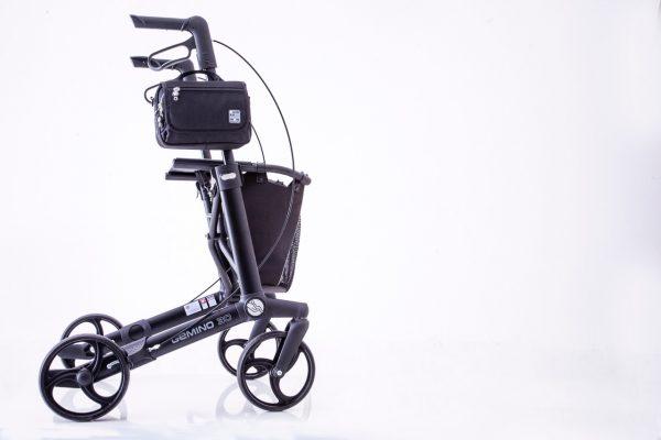 Quokka horizontal bag - black - walking frame