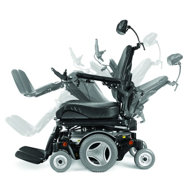 Permobil M300 HD power seat functions