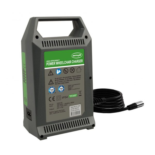 Permobil battery charger