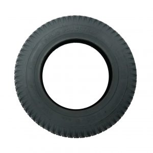 "Pneumatic 14"" tyre - grey"