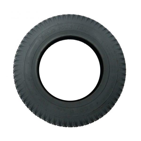 "Pneumatic 14"" tyre - grey"