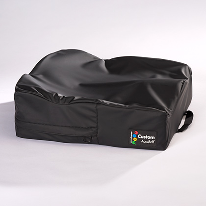 Ride Custom AccuSoft cushion with incontinence cover