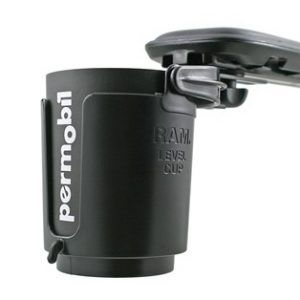 Permobil self-leveling cup holder