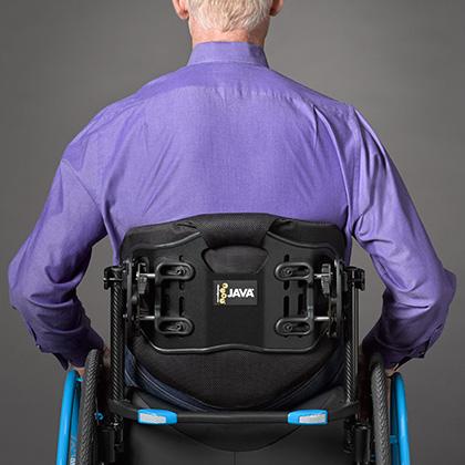Ride Java backrest in regular height