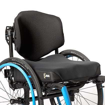 Ride Java Cushion on wheelchair