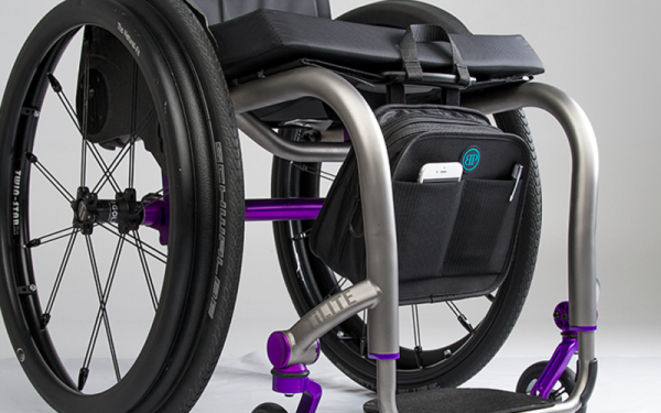 Bodypoint mobility bag on wheelchair