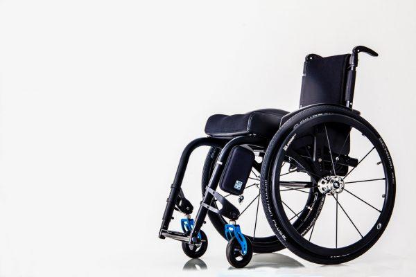 Quokka Smartphone case in black on wheelchair