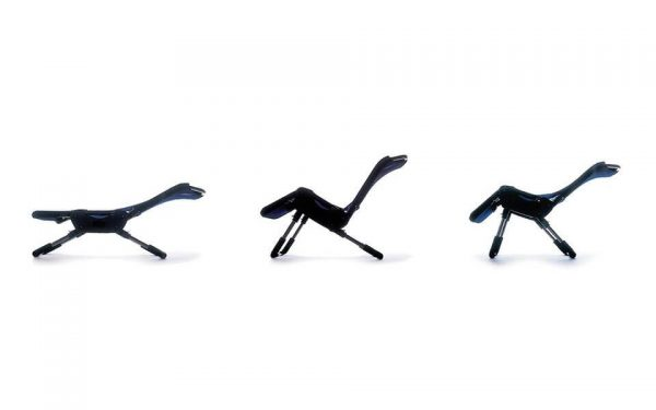 Leckey Bath Chair in various positions