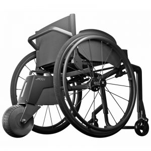 Alber Smoov on wheelchair