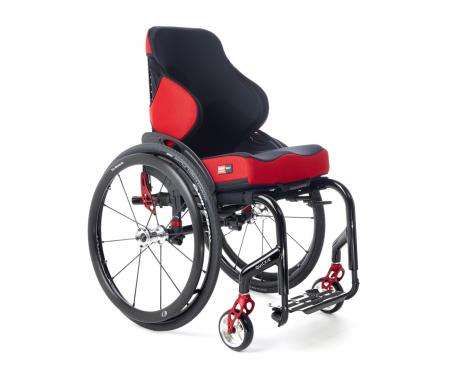 Spex Mantaray Backrest on manual wheelchair