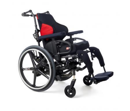 Spex Mantaray Backrest on tilt in space wheelchair