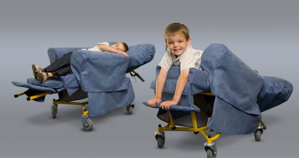 Small Symmetrikit Tiltrite Chair Prone and side lying