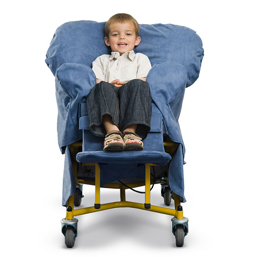 Small Symmetrikit Tiltrite Chair - front view