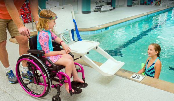 Child using Motion Composites Helio Kids