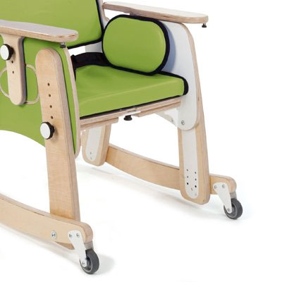 Leckey PAL chair with base accessories