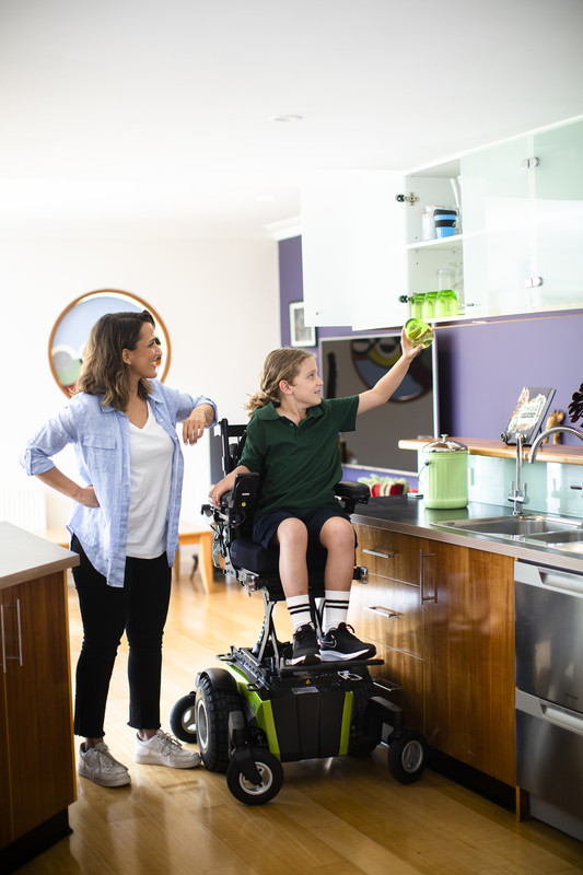 Magic Mobility 360 - elevation in use