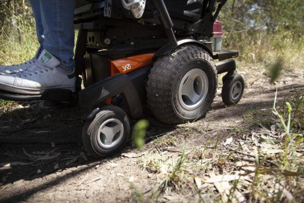 Magic Mobility 360 - off road terrain