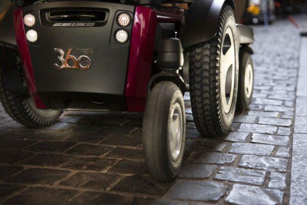 Magic Mobility 360 - rear view