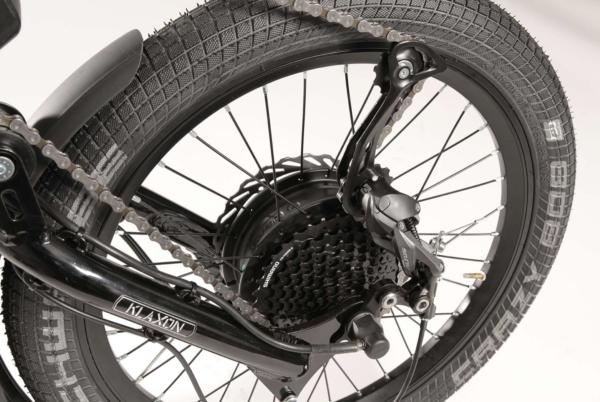 Klaxon Klick Hybrid - front wheel