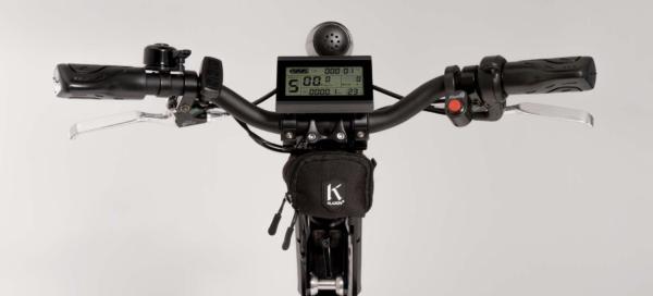 Klaxon Klick Monster - handlebar view