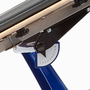 Rifton Prone stander - angle indicator