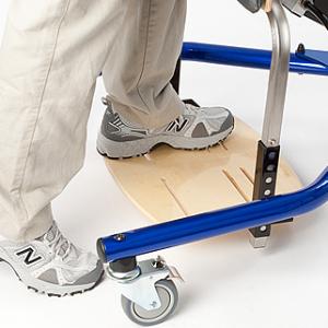 Rifton Prone stander - footboard