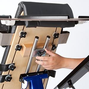 Rifton Prone stander - height adjustment