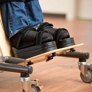 Rifton Supine Stander - footboard