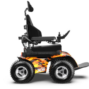 Magic Mobility Extreme X8 - flames